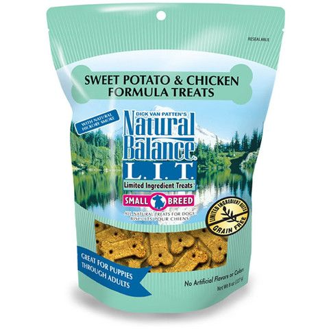 Natural Balance Limited Ingredient Sweet Potato & Chicken Formula Dog Treats 8oz