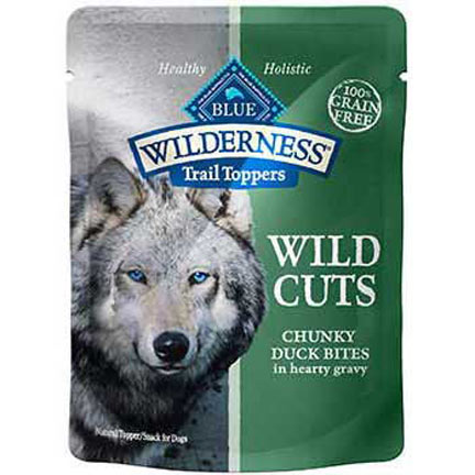 Blue Buffalo Wilderness Topper Duck 3oz 12 Count Case