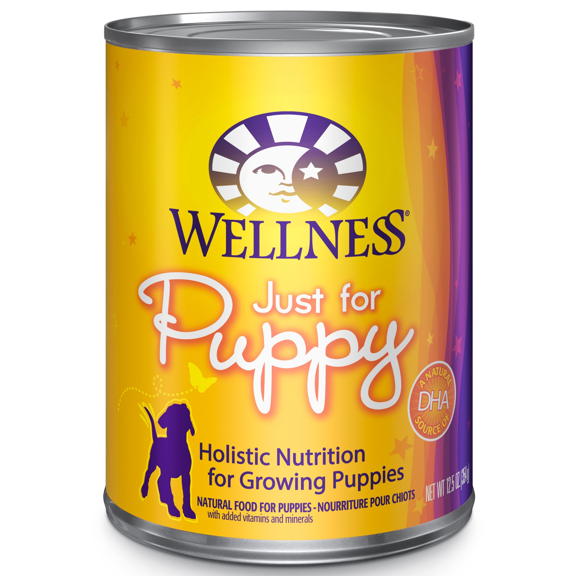 Wellness Puppy 12.5oz Canned Dog Food, Case of 12