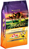 Zignature Grain Free Kangaroo Dry Dog Food 4lb