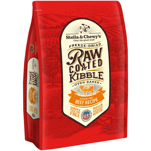 Stella & Chewys RAW CAOTED BEEF 22LB