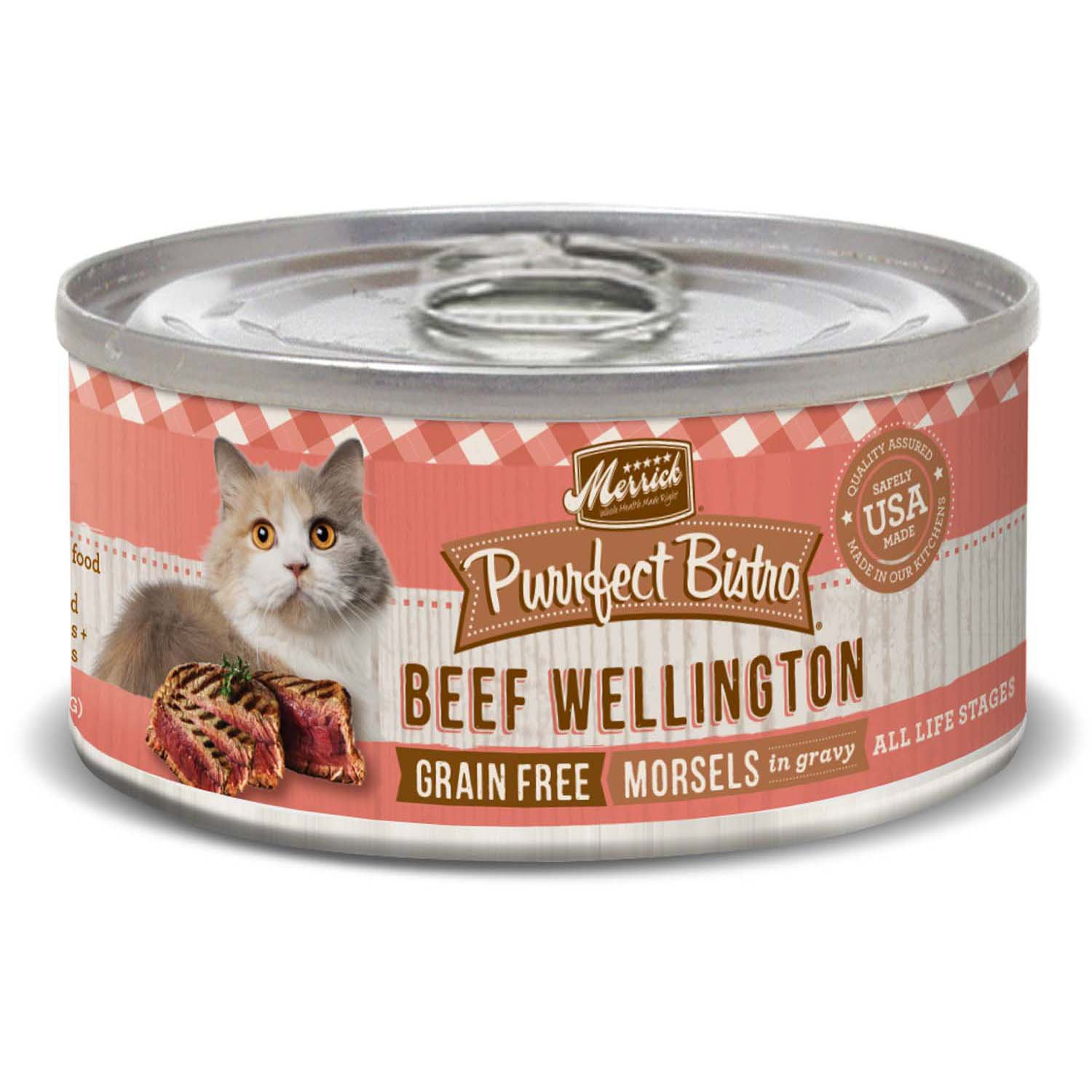 Merrick Beef Wellington Cat 5.5oz 24 Count Case