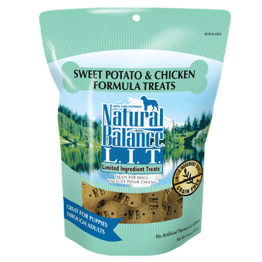 Natural Balance Limited Ingredient Sweet Potato & Chicken Formula Dog Treats 14oz