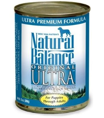 Natural Balance Original Ultra Premium Formula 13oz 12 Count Case