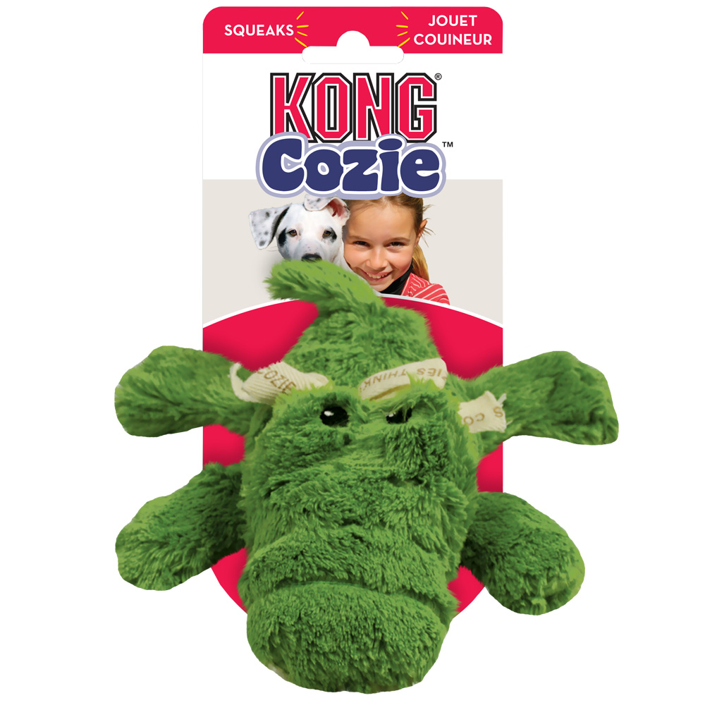 Kong Cozie Ali Alligator Dog Toy Medium