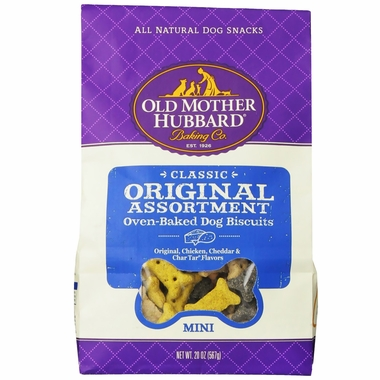 Old Mother Hubbard Mini Original Assortment Biscuits 20oz
