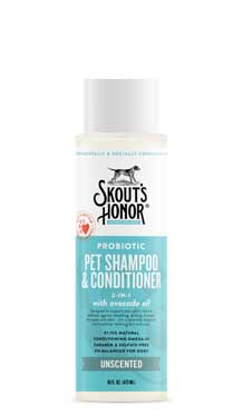 Skout's Honor Shampoo Unscented, 16oz