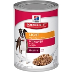 Science Diet Light Adult 13OZ 12 Count Case