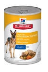 Science Diet Chicken & Vegetable Stew Adult 12.8OZ 12 Count Case