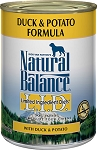Natural Balance LID Duck & Potato 13oz 12 Count Case