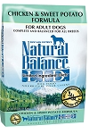 Natural Balance LID Chicken & Sweet Potato 26lb