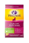 Wellness Small Breed Adult Turkey and Oatmeal Recipe Dry Dog Food, 4lb