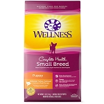Wellness Small Breed Puppy Turkey, Oatmeal and Salmon Recipe Dry Dog Food, 4lb