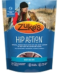 Zuke's Hip Action Roasted Beef Recipe Dog Treats 6oz