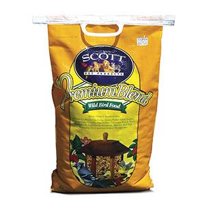 Scott Pet Premium Blend Wild Bird Seed Mix with Corn 20 Lb Bag