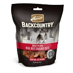 Merrick Backcountry Great Plains Real Beef Sausage Cuts Dog Treats