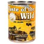 Taste of the Wild High Prairie Grain-Free Roasted Bison in Gravy Dog Food, 13.2 oz., Case of 12