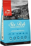 Orijen Six Fish Dry Dog Food 4.5lb