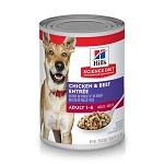 Science Diet Beef and Chicken Adult 13OZ 12 Count Case