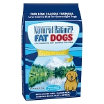 Natural Balance Fat Dogs Chicken Meal, Salmon Meal, Garbanzo Beans, Peas & Oatmeal Dry Dog Food, 28 Lbs.