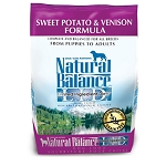 Natural Balance L.I.D. Limited Ingredient Diets Sweet Potato & Venison Formula Dry Dog Food, 4.5 Lbs.