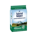 Natural Balance L.I.D. Limited Ingredient Diets Lamb & Brown Rice Formula Dry Dog Food, 4 Lbs