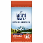 Natural Balance L.I.D. Limited Ingredient Diets Salmon & Sweet Potato Formula Dry Dog Food, 4 Lbs.