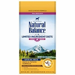 Natural Balance L.I.D. Limited Ingredient Diets Duck & Potato Formula Small Breed Bites Dry Dog Food, 4 Lbs.