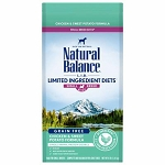 Natural Balance L.I.D. Limited Ingredient Diets Chicken & Sweet Potato Formula Small Breed Bites Dry Dog Food, 4 Lbs.