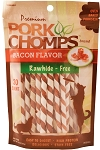 Pork Chomp Bacon Twistz, 30 Count Package