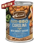 Merrick Slow Cooked BBQ Carolina Style with Smokey Sausage 12.7oz, 12 Count Case