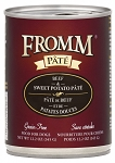 Fromm Beef & Sweet Potato Pate 12.2OZ CAN 12CT CASE