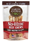 Earth Animal No Hide 4 inches Beef Dog Chew 2ct