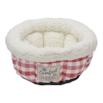 *Limited Time Only* Happy Tails Cat Bed, Cranberry