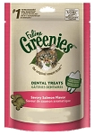 Greenies Feline Dental Treats Savory Salmon 2.5 oz