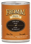 Fromm Chicken Pate 12oz CAN 12CT CASE