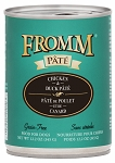 Fromm Chicken & Duck Pate 12oz CAN 12CT CASE