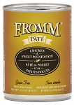 Fromm Chicken & Sweet Potato Pate 12.2oz CAN 12CT CASE