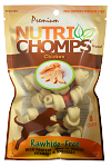 Nutri Chomps Mini Chicken Wrapped Knots, 8 Count Package