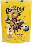 Fromm Crunchy O's Blueberry Blasts, 6oz