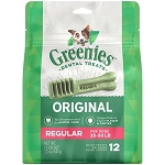 Greenies Dental Treats Regular Size 12ct