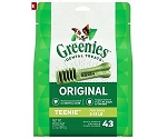 Greenies Original Dental Dog Treats Teenie 43ct