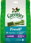 Greenies Mint Large Treats 12oz