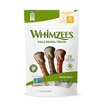 Whimzee Brushzee Medium, 7.4oz Package