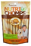 Nutri Chomp Peanut Butter Mini Twists, 10 Count Package