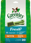 Greenies Mint Petite Treats 12oz