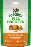 Greenies Pill Pockets Cheese Capsules, 30ct