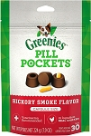 Greenies Pill Pockets Hickory Capsules, 30ct