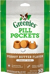 Greenies Pill Pockets Peanut Butter Tablets, 30ct