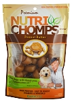 Nutri Chomp Peanut Butter Mini Knots, 8 Count Package
